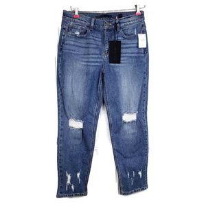 Sneak Peek Jeans Distressed High Rise Sz 30 NWT